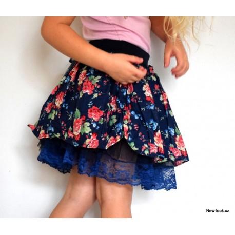 Tylová sukně -GIRL LAMBADA