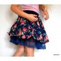 Bavlněno-tylová sukně -GIRL LAMBADA
