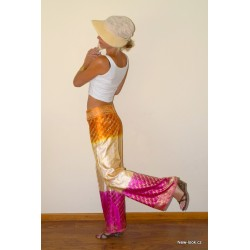 kalhoty ze Srilanského sárí